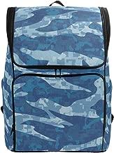 Laptop Backpack Navy Tiger Stripe Camouflage College Backpack for Women Big 3D Bag