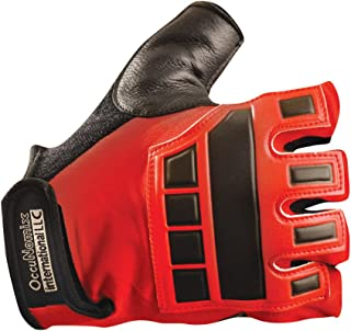Occunomix Deluxe Vibration and Impact Protection Gloves 2X Red