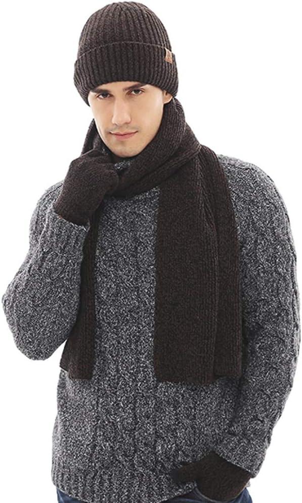 Uoyov Autumn Latest item and Winter New Popcorn item Piece Scarf Gloves Set Hat 3
