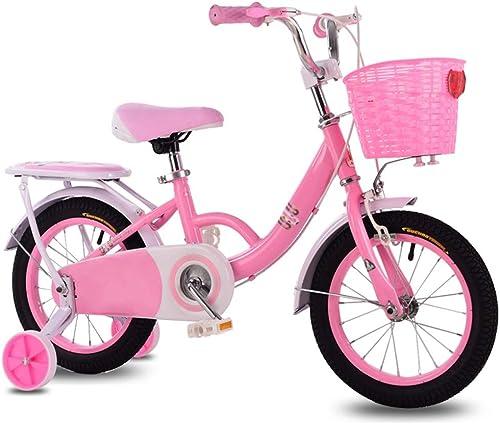 grandes ofertas Axdwfd Infantiles Bicicletas Bicicletas para Niños 14 16 18 18 18 Pulgadas, Bicicleta para Niños de Acero al Carbono con Rueda de Entrenamiento Regalo para Niños y niñas de 3-9 años  en linea