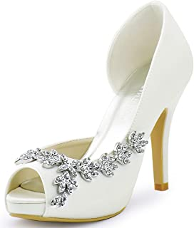 Best ivory wedding heels Reviews