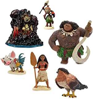 Best Disney Moana Figure Play Set 6 Pieces Review