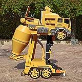 Markc RC Coche de Bomberos de Radio Control Remoto RC Cemento Control de Rescate es el Mejor Juguete del Carro del Regalo de cumpleaños for niños y niñas 3-12 años