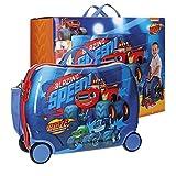 Blaze Race Maleta Correpasillos, 50 cm, 34 litros, Azul