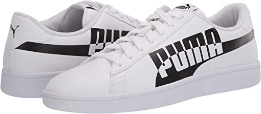 Puma White/Puma Black