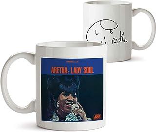 34種類!人気レア!《アレサ・フランクリン/Aretha Franklin》オリジナル・アルバム ジャケット デザイン マグカップ/mugcup (Lady Soul -3) [並行輸入品]