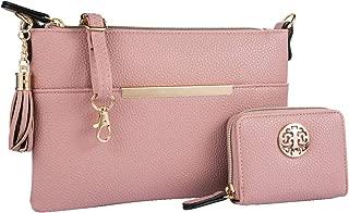 Heaye Crossbody Bags for Women Medium Size with Tassel + Wallet