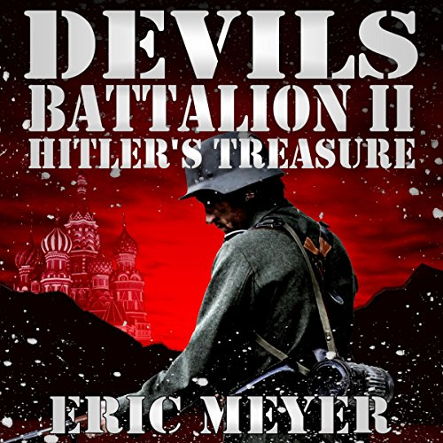 Hitler's Treasure audiobook cover art