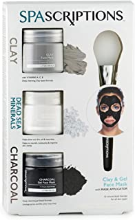 spascriptions gel face mask 3 pack directions