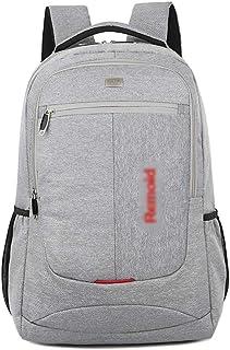 ZNBJBB Men's And Women's Business Backpack Computer Bag 15.6- Shoulder Bag Men's Notebook 14- Korean Students Double Shoul...