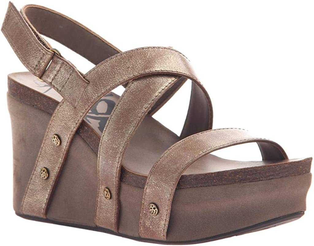 OTBT Women's Sail Sandals Wedge Inventory cleanup selling New life sale