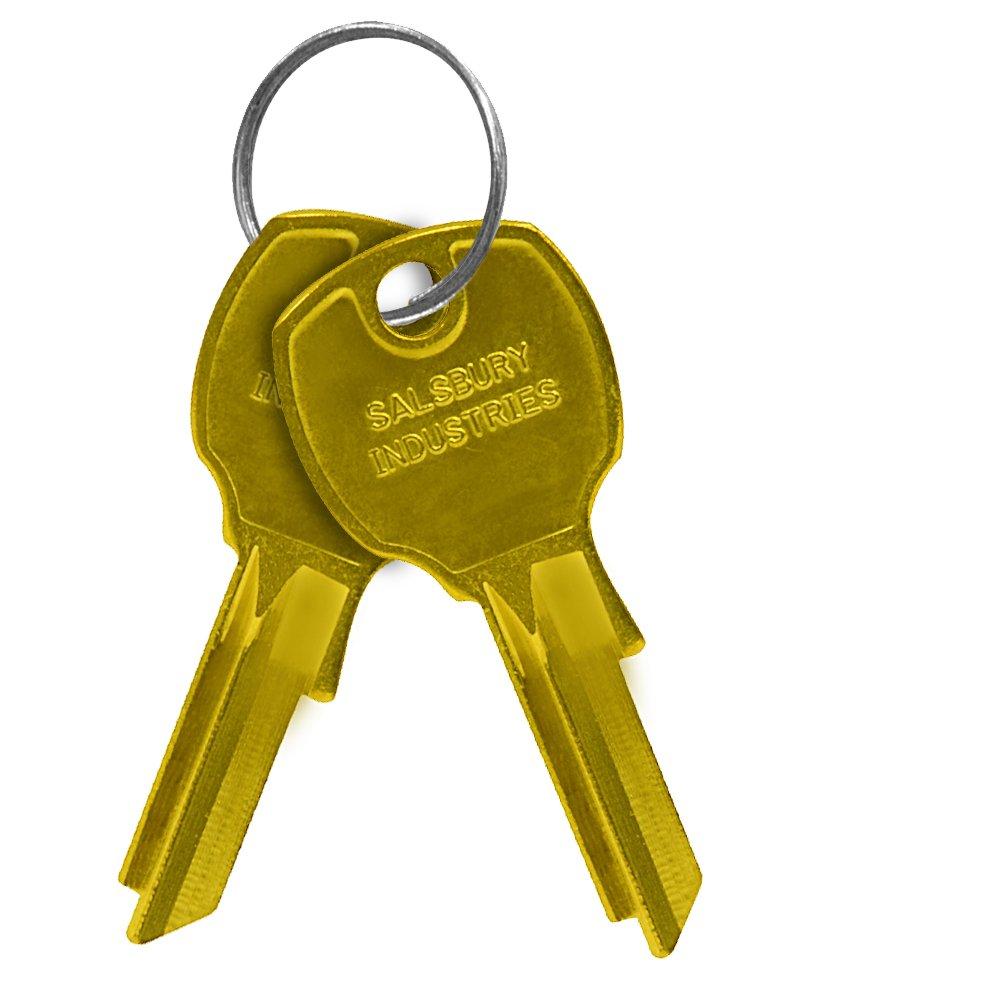 Salsbury Industries Cluster Box Units Key Blank, Pins 5, PK50, B