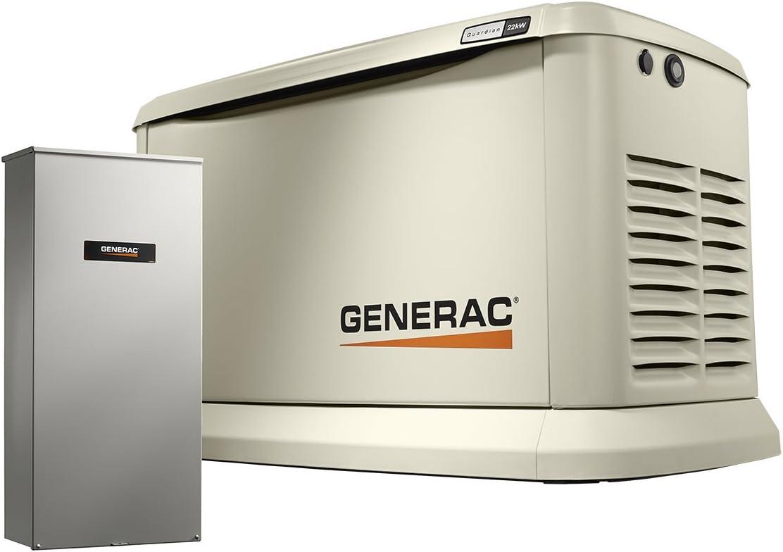Generac 7043 Generador de espera casero 22kW/19.5kW ...