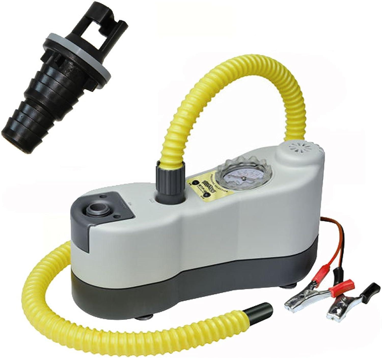 Bravo-E-Luftpumpe Bravo BP elektrische Luftpumpe mit Manometer und Halkey Roberts Ventil
