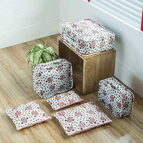 Cubos de viaje Conjunto de 6 piezas Bolsas de almacenamiento de ropa...