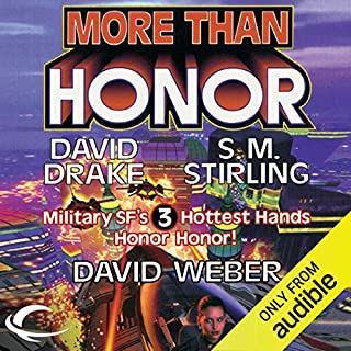 More Than Honor audiobook cover art