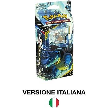 Andycards Mazzo Blastoise Gioco di Squadra Mazzo da 60 Carte Pok/émon in Italiano Segnapunti