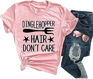 YourTops Dinglehopper Hair Don`t Care Women T- Shirt
