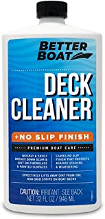 Boat Deck Cleaner Marine Grade to Clean Anti Stick Surfaces and Non Stick Floor on Boats