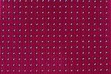 CARLO VISCONTI - Corbata de Hombre - Motivo Topos - Fucsia y Celeste - Tejido Jacquard 100% Seda Natural - Forro de Lana y Algodón - Corbata de Hombre Original - Regalo para Caballeros
