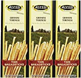 Alessi Thin Breadsticks, 3 oz, 3 pk