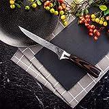 Coltelli da cucina Motivo Coltello da cucina for disossare Coltello Damasco Laser macellaio coltello in acciaio inox Bone Carne Frutta Verdura Pesce Chef Knife (Color : Boning Knife)