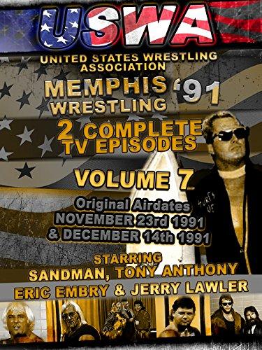 USWA Memphis Wrestling 2 TV Episodes 1991 Vol 7