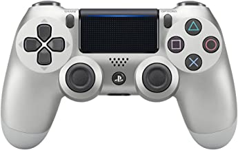 DualShock 4 Wireless Controller for PlayStation 4 - Silver - Standard Edition