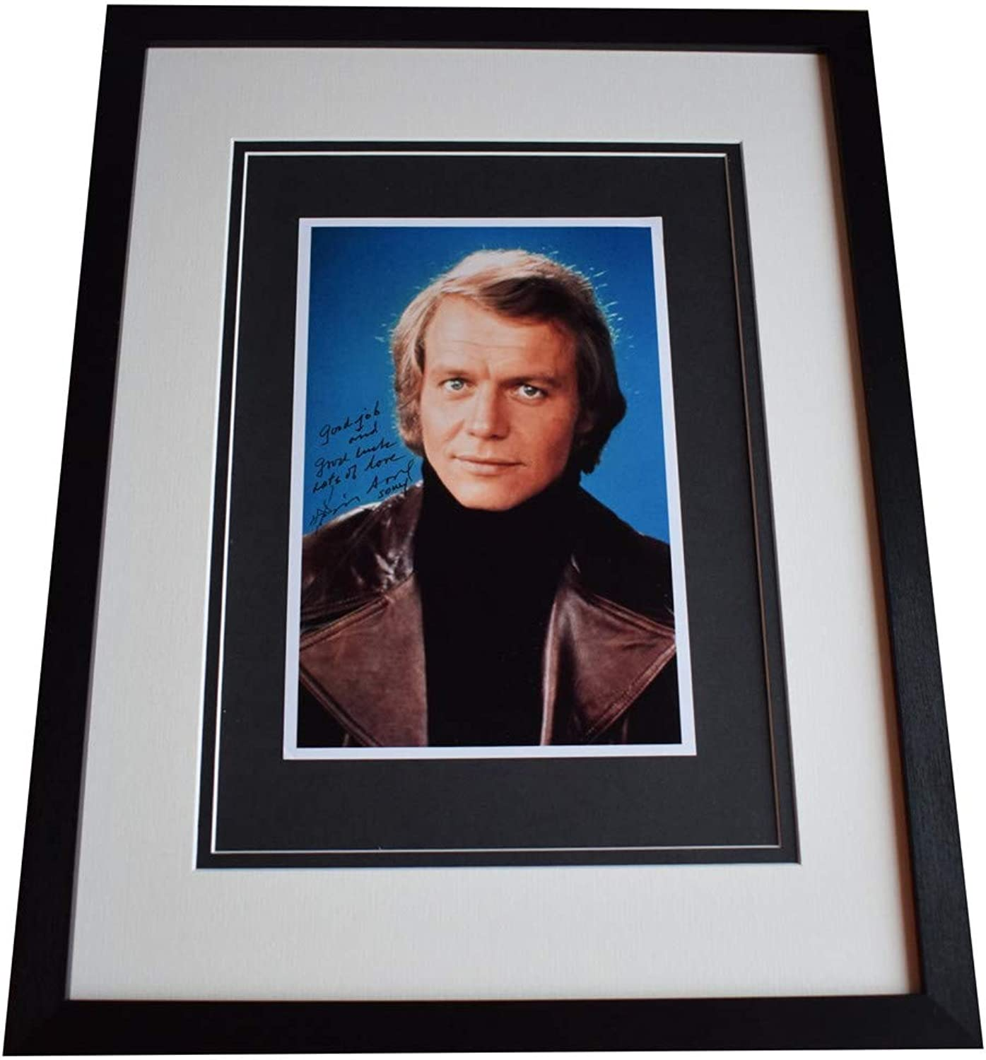 Sportagraphs David Soul Signed Framed Autograph 16x12 photo display Starsky & Hutch COA