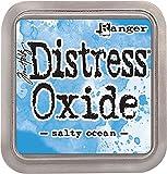 Ranger Tim Holtz Distress Oxide Ink Pad Salty Ocean, Material sintético, Azul, 7.5 x 7.5 x 1.9 cm