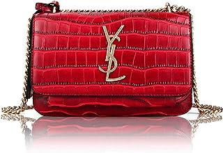 AUSTRY Designer Leather Shoulder Bag for Women Classic Qulited Crossbody Clutch Purse