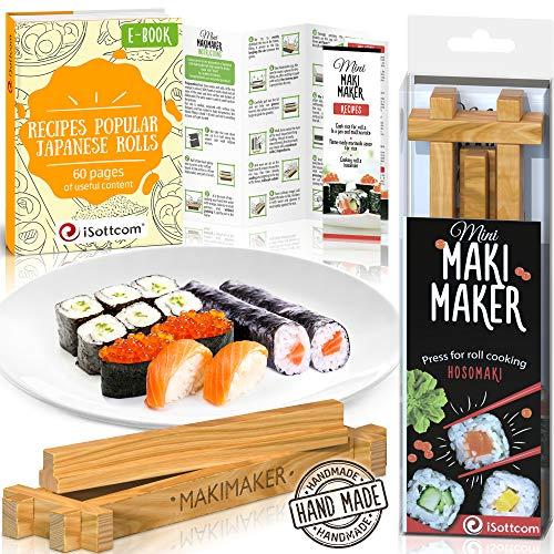 iSottcom Sushi Bastelset Makimaker Mini hellbraun