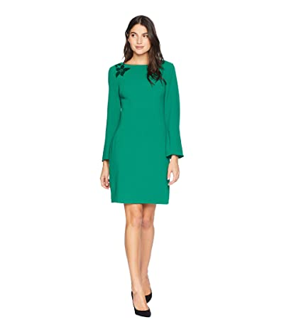 Trina Turk Engaging Dress (Emerald) Women
