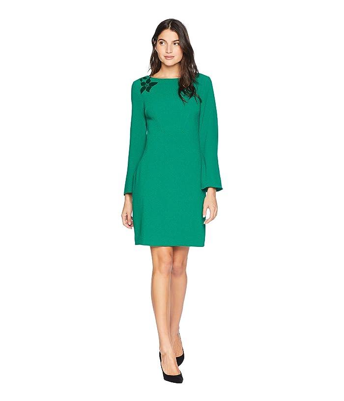 Trina Turk  Engaging Dress (Emerald) Womens Dress