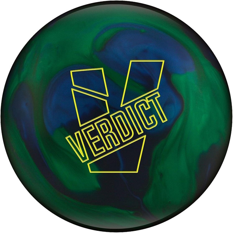 Ebonite Verdict Bowling Ball blueee Green