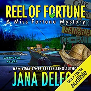 Reel of Fortune                   Written by:                                                                                                                                 Jana DeLeon                               Narrated by:                                                                                                                                 Cassandra Campbell                      Length: 8 hrs and 31 mins     5 ratings     Overall 4.6