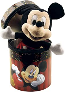 Lata com Pelucia Mickey, Disney, Multicor