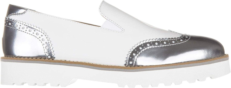 .Hogan Damen H259 Slip-on Silber Bianco 36 EU