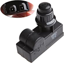 Ycncixwd BBQ Parrilla de gas Repuesto 2 Outlet AA Batería Push Button Ignitor Igniter Negro