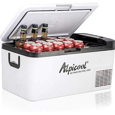 Alpicool K18 18 Liter Kühlbox Klein Elektrische Mini Kühlschrank Gefrierbox 12v Mit Usb Anschluss Für Auto Lkw Boot Rv Und Steckdose 20 20 Auto