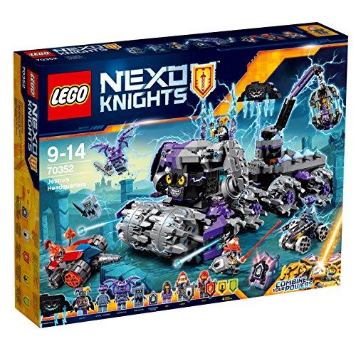 LEGO Nexo Knights 70352 - Set Costruzioni Il Quartier Generale di Jestro