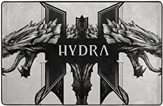Hydra Within Temptation Non-Slip Area Rugs Home Decor Floor Mat Living Room Bedroom Carpets Doormats 60 X 39 Inches