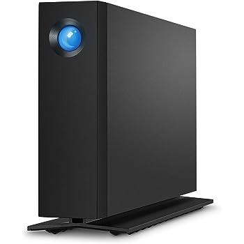 LaCie HDD 外付けハードディスク 6TB d2 Professional USBタイプC ブラック 5年間保証 STHA6000800