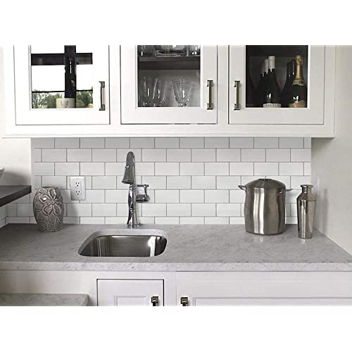 Subway Backsplash Kitchen Tiles: Amazon.com