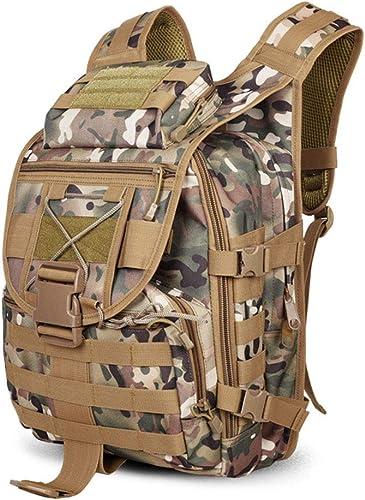 GFQ Sac à Dos Tactique Militaire Sac de randonnée Camping en Plein air Pack Tactique Hommes Sac de Combat 20L