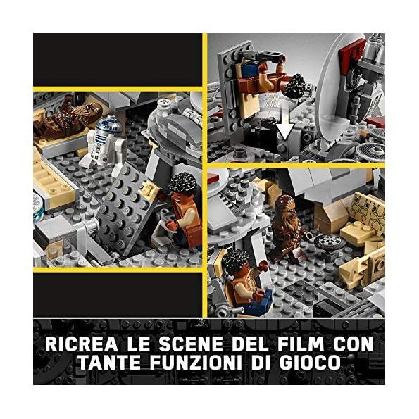 LEGO-Starwars-Millennium-Falcontm-75257-Set-di-Costruzioni-delliconica-Astronave-Ricca-di-Dettagli-per-Ragazzi-da-9-Anni