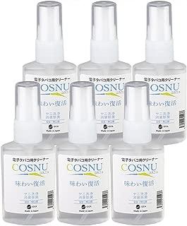 COSNU (コスニュ) アイコス iQOS 用 クリーナー 洗浄液 50ml X6本