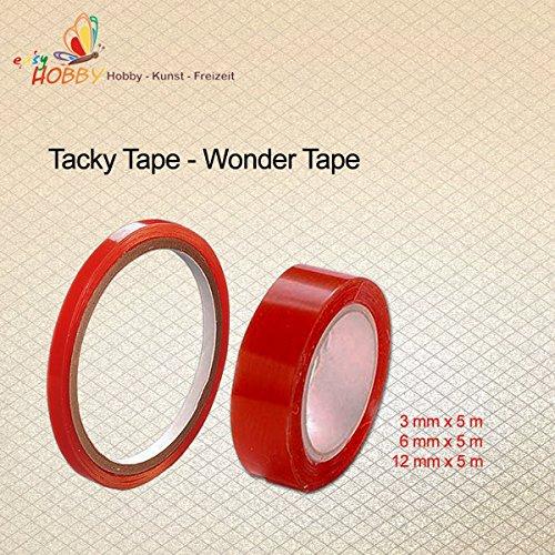 SMITS Tacky Tape - Wonder Tape, dubbelzijdig, transparant
