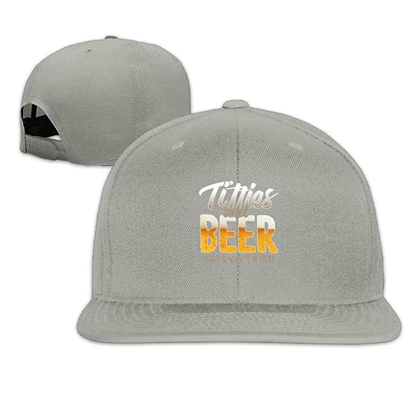 Classic Baseball Caps Titties and Beer That's Why I'm Here Personalized Summer Hats