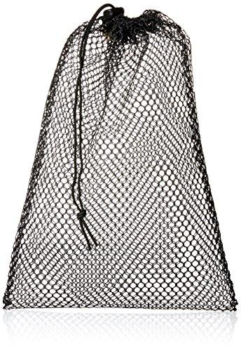 Equinox Nylon Mesh Stuff Bag, Black, 11 x 16-Inch